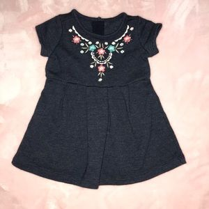 6-12M Gymboree Dress Navy Blue Dress